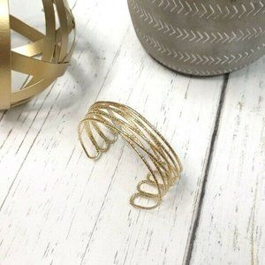 3/$25 INC International Concepts Cuff Gold Colored